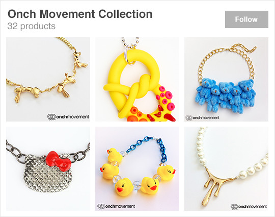 Wanelo featured collection onch