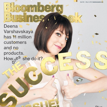 Wanelo press deena cover bloomberg businessweek