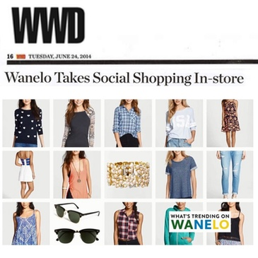 Wanelo press deena cover wwd