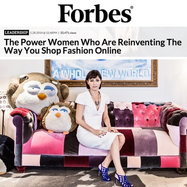 Wanelo press deena forbes power women