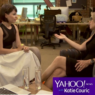 Wanelo press deena yahoo katiecouric
